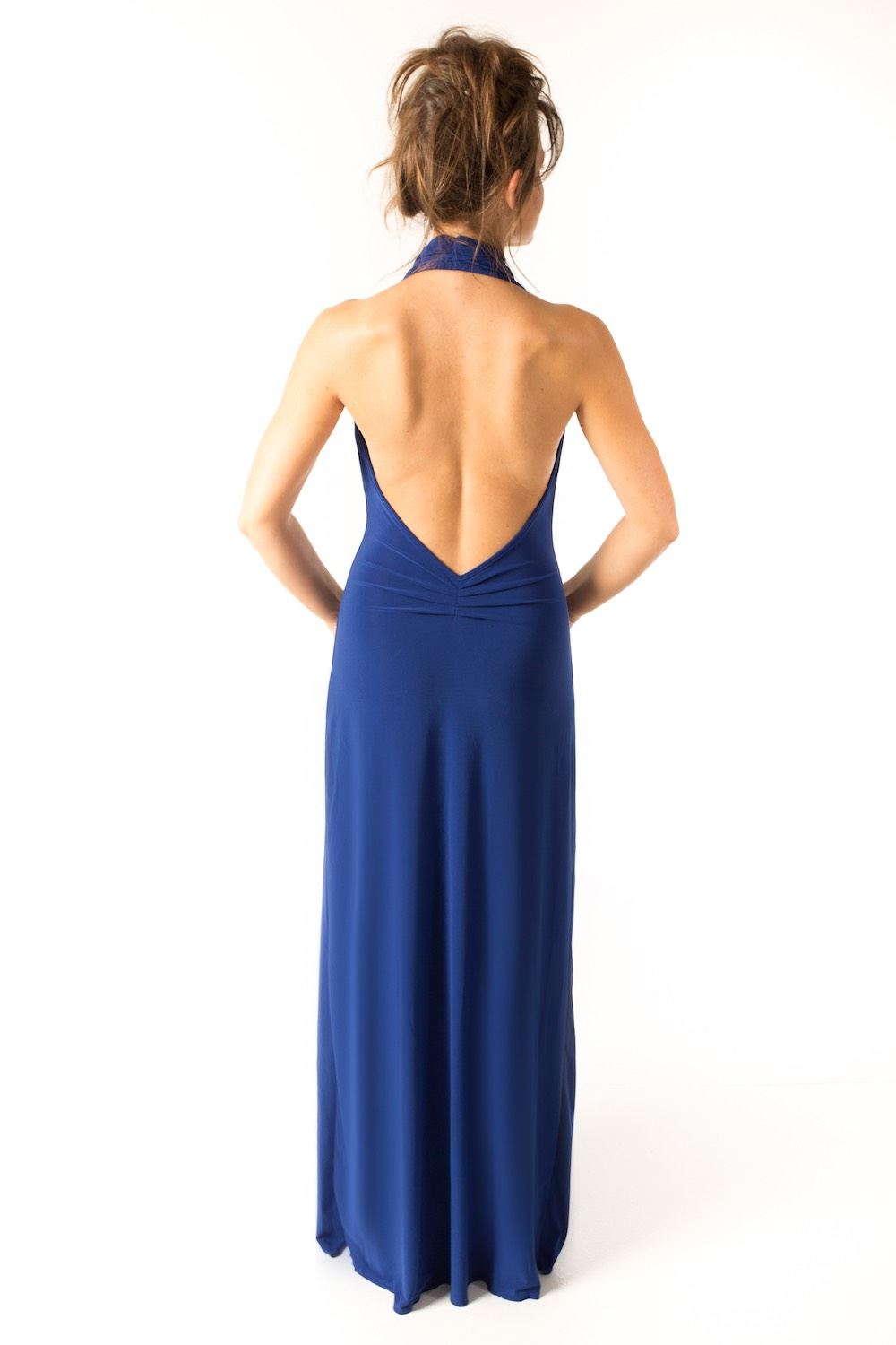Dress L100 Blue Rear