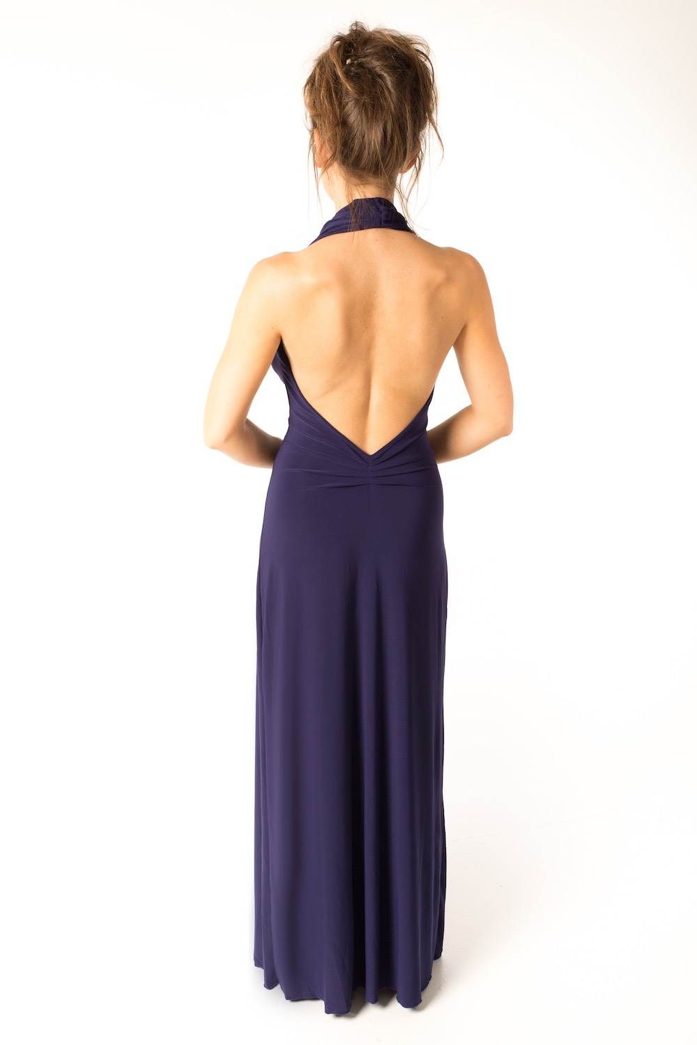 Dress L100 Navy Rear