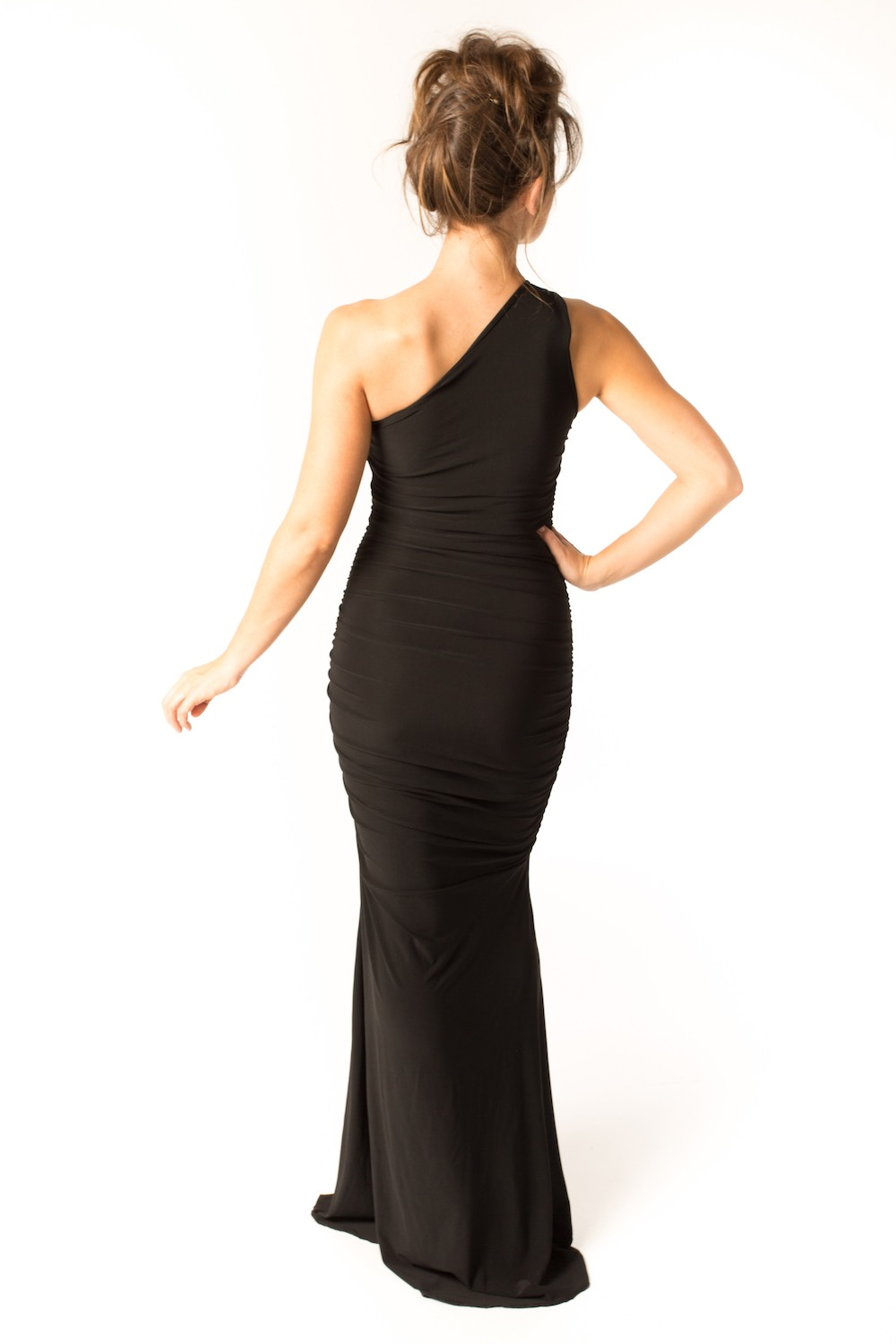 Dress L148 Black Rear
