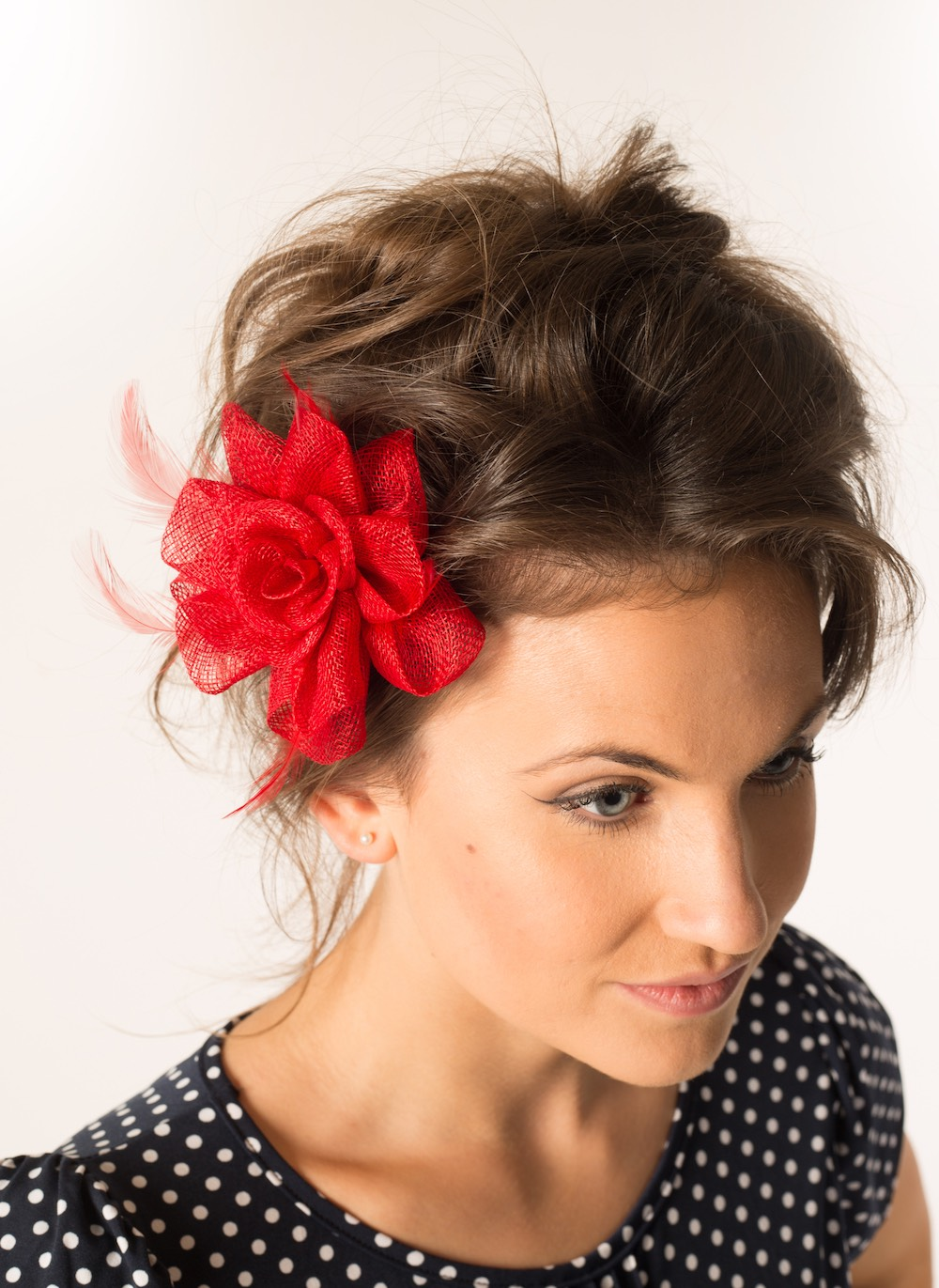 Fascinator 36 Red
